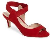 Pelle Moda Women's Berti Peep Toe Sandal