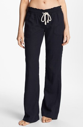 Roxy Oceanside Linen Blend Beach Pants