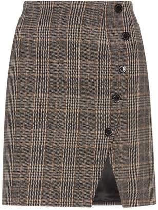 Sandro Tweed Wrap Skirt