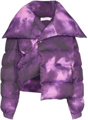 Marques Almeida Marques'Almeida deconstructed tie-dye puffer jacket