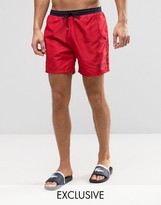 HUGO BOSS BOSS By Star Fish Swim Short Exclusive Red