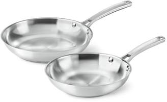 """Calphalon Classic Stainless Steel 8"""" & 10"""" Fry Pan Combo"""