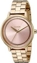 Nixon Women's The Kensington X Pink Deco Collection
