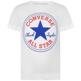 Converse ConverseWhite Logo Print Top
