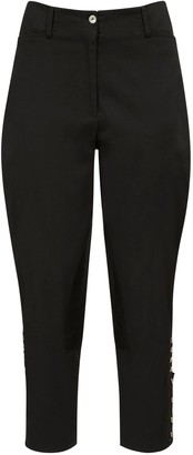 ÀCHEVAL PAMPA Al Beso Stretch Pants W/ Back Half Belt