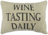 Park B Smith Park B. Smith Wine Tasting Daily Decorative Pillow