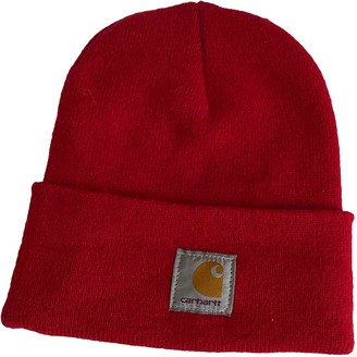 Carhartt Red Synthetic Hats & pull on hats