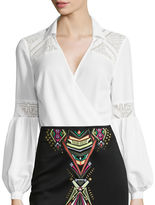 Bisou Bisou Twist Lace Bodysuit