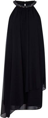 Ariella London Lana Marie Mahira Black Chiffon Dress