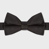 Paul Smith Men's Black Silk Bow Tie