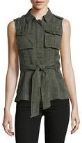 Design Lab Lord & Taylor Utility Vest