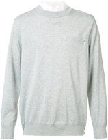 Sacai chest pocket jumper - men - Cotton/Polyester/Cupro - 2