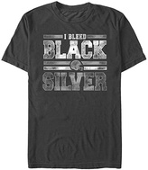 Fifth Sun Black 'I Bleed Black & Silver' Tee - Men's Regular & Big