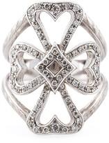 Loree Rodkin diamond Maltese cross midi ring