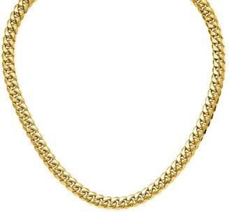 "14K Gold 28"" Cuban Link Necklace, 65.3g"