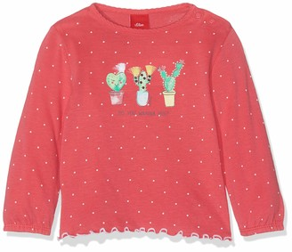 S'Oliver Baby Girls' 65.904.31.8494 Long Sleeve Top