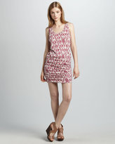 Soft Joie Bond Ikat-Print Dress