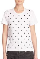 Marc Jacobs Polka Dot Cotton Tee