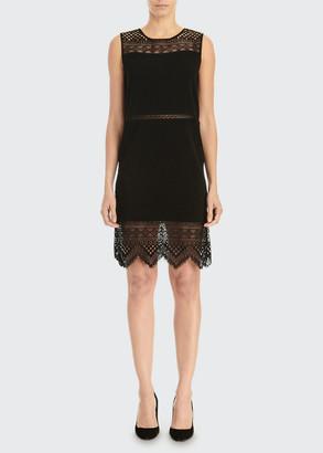 Carolina Herrera Guipure Lace Shift Dress