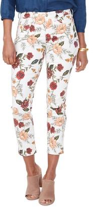 NYDJ Sheri Print Ankle Skinny Jeans