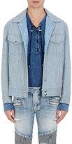 Balmain Men's Embellished Trucker Jacket