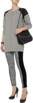 LnA Cyde paneled modal-blend sweater dress
