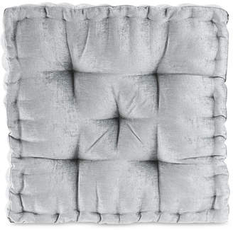 "Intelligent Design Azza 20"" x 20"" Poly Chenille Square Floor Pillow Cushion"