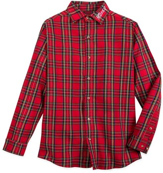Disney Mickey Mouse Flannel Shirt for Adults by Cakeworthy