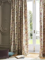 Thumbnail for your product : Voyage Ilinizas Pair Lined Pencil Pleat Curtains, Poppy