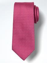 Banana Republic Mini Geo Silk Nanotex Tie