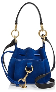 See by Chloe Tony Small Leather & Suede Bucket Bag