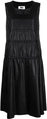MM6 MAISON MARGIELA Drawstring-Detail Midi Dress