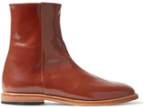 Dieppa Restrepo Rod Patent-Leather Ankle Boots
