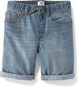 Old Navy Denim Pull-On Shorts for Boys
