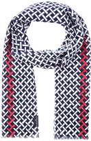 Fraas Scarf blue white