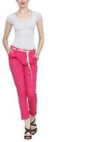 Desigual Solid Pant Pink