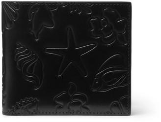 Thom Browne Embossed Leather Billfold Wallet