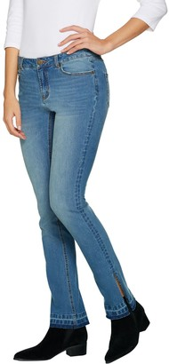 G.I.L.I. Got It Love It G.I.L.I. Released Hem Side Slit Regular Jeans