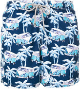 MC2 Saint Barth anchor printed swim shorts - men - Polyamide/Polyester/Spandex/Elastane - XXXL