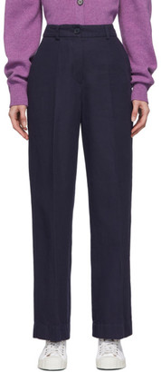 YMC Navy Carla Trousers
