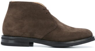 Church's Ankle Length Lace-Up Boots