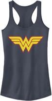 Licensed Character Juniors' DC Comics Wonder Woman Classic Symbol Tank Top