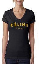 Fashion Place 4 Less Ladies Celine V Neck Tshirt