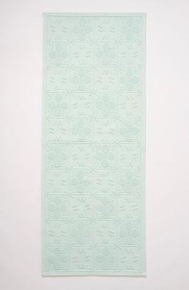 Anthropologie Home Tile Runner Bath Mat