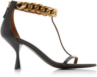 Stella McCartney Falabella Chain-Link Vegan Leather Sandals