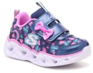 Skechers S Lights Heart Lights Color Me Lights Light-Up Sneaker - Kids'