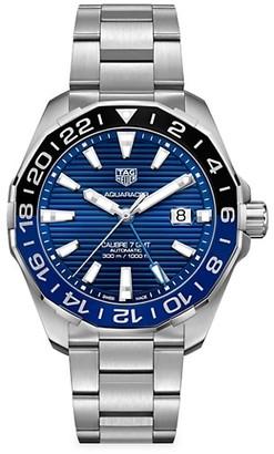 Tag Heuer Aquaracer 43MM Stainless Steel Bracelet Watch