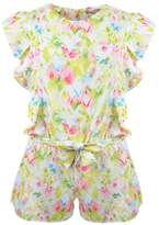 Mayoral Floral Watercolor Romper