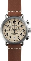 Shinola 41mm Runwell Chrono Watch, Dark Brown