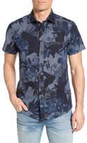 Rodd & Gunn Kingsley Print Chambray Sport Shirt